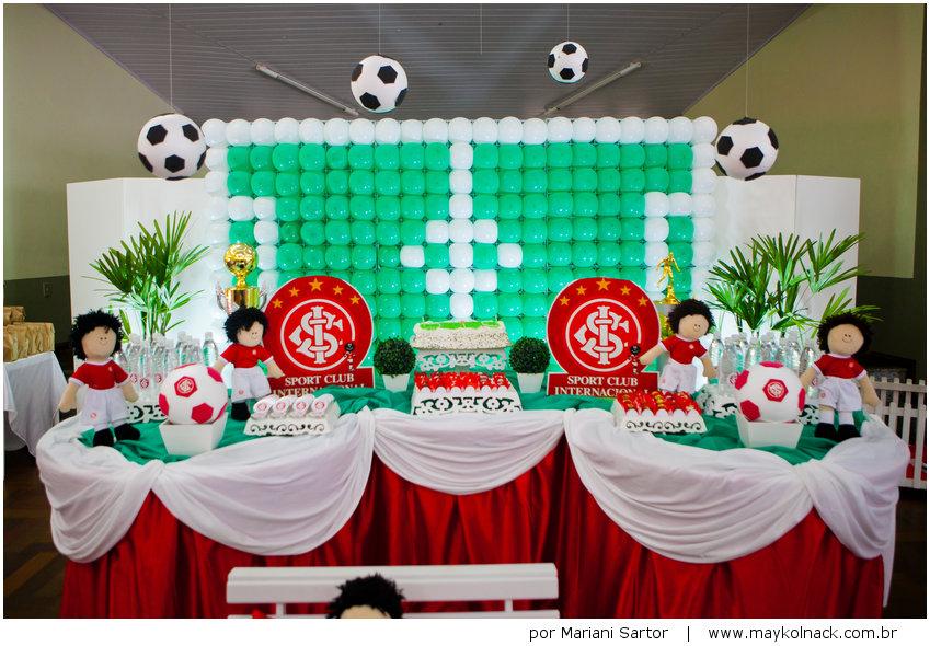 Aniversário com Futebol